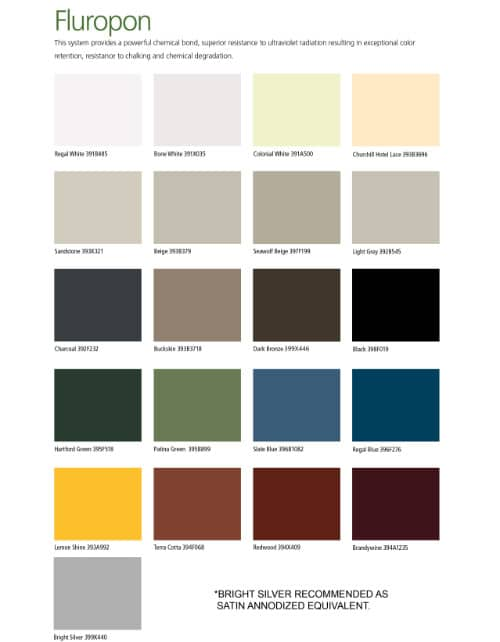Berridge Color Chart 28 Images Firestone Metal