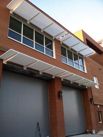 Fire Station #1 - South Padre - Aluminum Sunshades