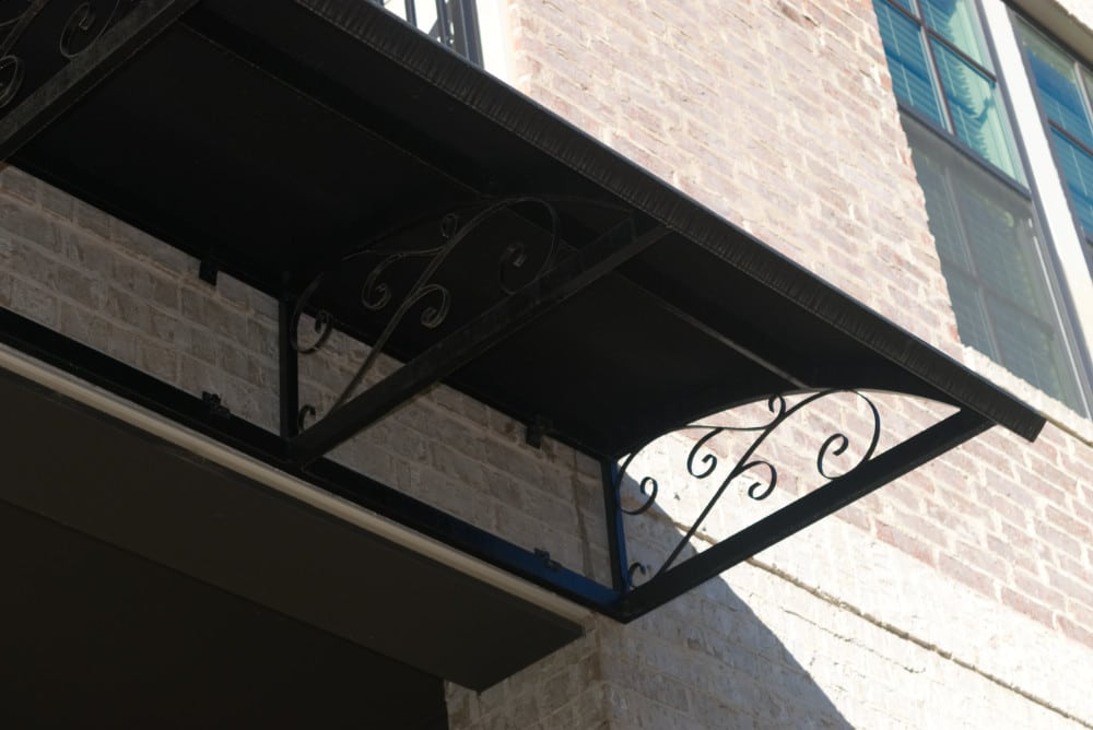 The Neighborhood at the Sound Apartments - Decorative Fabric Awnings, Canopies, Sunshades, Braces